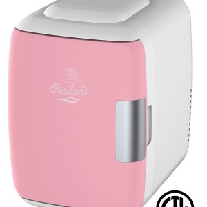 Pink Portable Mini Fridge Electric Cooler