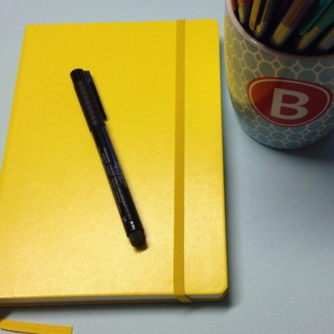The Happiness Dare: Incorporating Gratitude in a Bullet Journal