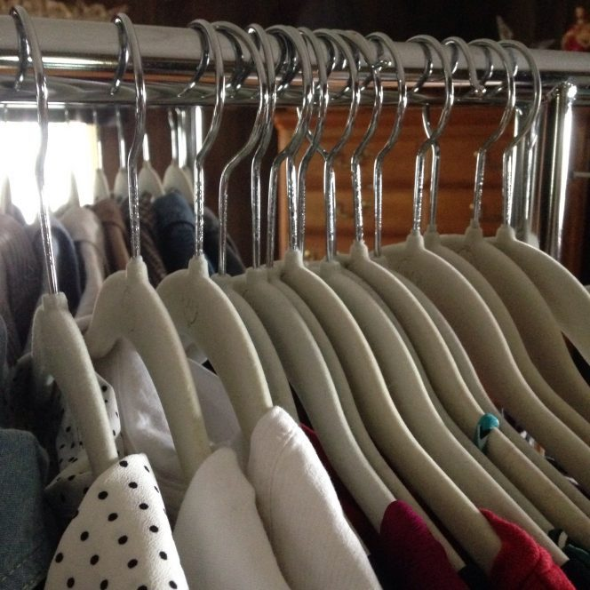 Capsule Wardrobe : saving space