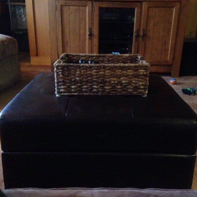 Maximize Space With a Storage Ottoman