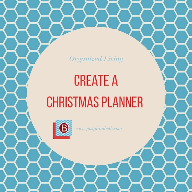 Have an Organized Christmas with a Christmas Planner
