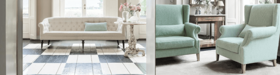 Heritage is a classic collection that features two plain weaves. One design is called Baltic which is a natural fabric with a strie effect, whilst the other design Hillbank is a two tone textured weave that uses boucle yarns.