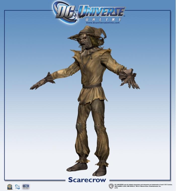 DC Universe Online Scarecrow Screenshots Just Push Start
