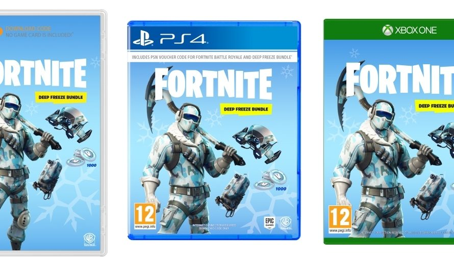 Physical Fortnite Battle Royale Copies Releasing In