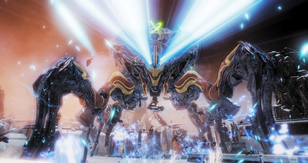Warframe Fortuna Expansion Gets The Profit Taker DLC For