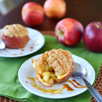 Apple Crunch Pie Apple Cups