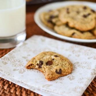 GF Coconut Chocolate Chip Cookies