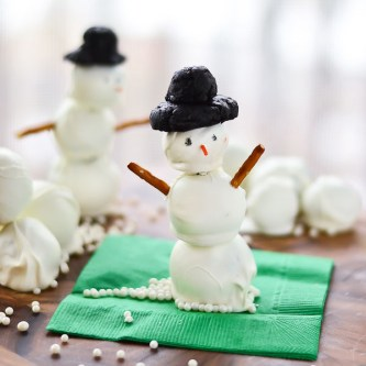 OREO Cookie Ball Snowmen