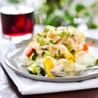 Crockpot Parmesan Chicken….and a Giveaway! [GIVEAWAY CLOSED]