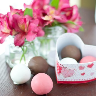 Chocolate Covered Strawberry Cake Balls…and a Giveaway! {GIVEAWAY  CLOSED}