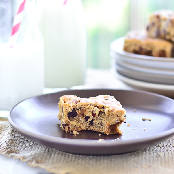 Chocolate Chip Blondie 5 (1 of 1)