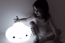 Luminária no quarto de bebê e de crianças - Just Real Moms
