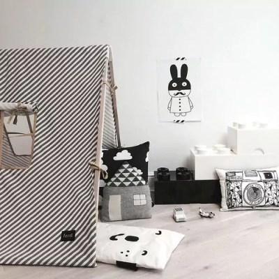 Quarto infantil preto e branco - Just Real Moms