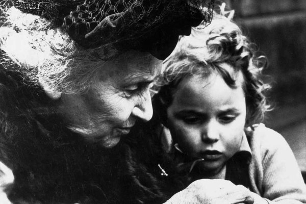 Maria Montessori - Just Real Moms