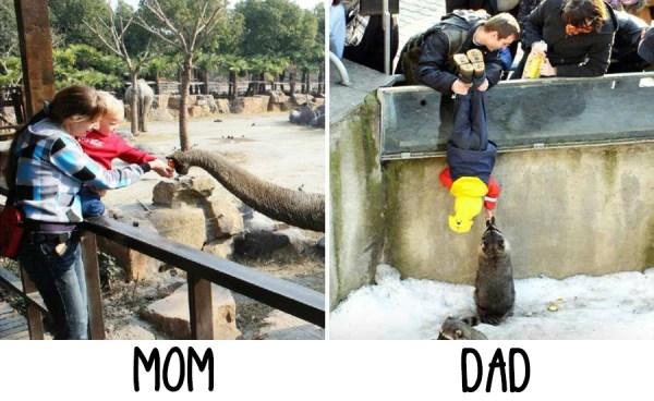 O que uma Mãe diz vs. O que um Pai pensa - Just Real Moms