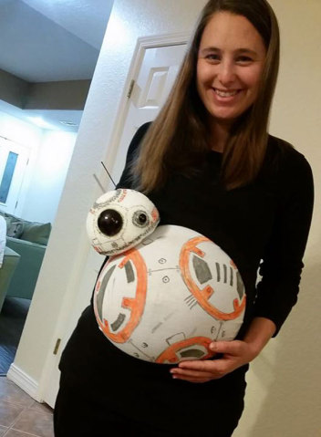 14 inspirações de fantasias de Halloween para grávidas