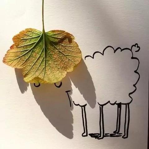 Artista transforma sombras de objetos em desenhos lindos!