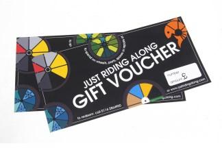 Just Riding Along gift voucher