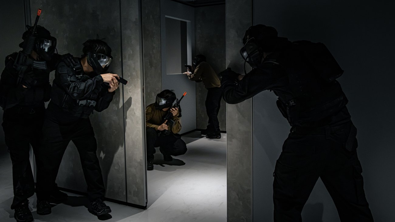 HomeTeamNS Launches Singapore's First Indoor PvP Airsoft facility, TactSim.