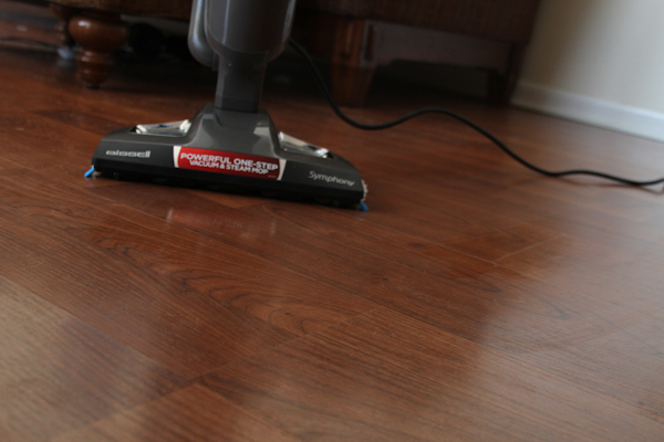 Steam Vacuum cleaning
