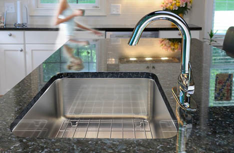 single bowl undermount sink made in