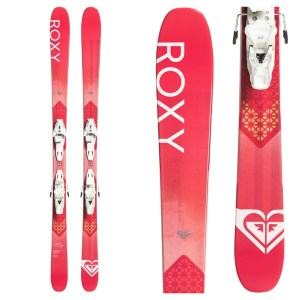 Roxy Dreamcatcher 85 Womens Skis with Roxy Lithium 10 GW by Salomon Bindings 2020