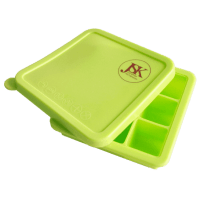 Silicone Square Ice Cube Tray with Lid