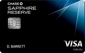 Chase Sapphire Reserve - Best Annual Fee Credit Cards