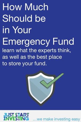 How Much Emergency Fund - Pinterest