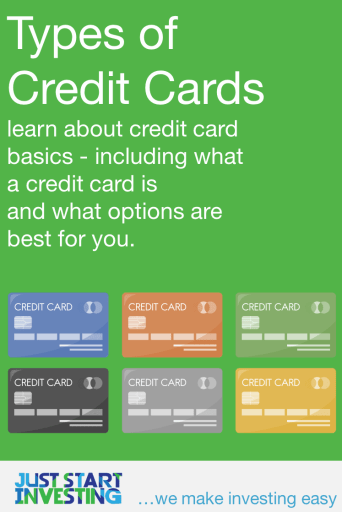 Types of Credit Cards - Pinterest