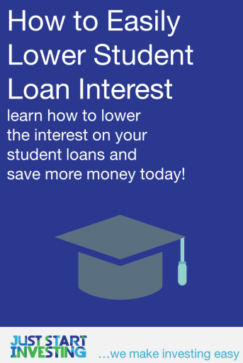 Lower Student Loan Interest - Pinterest