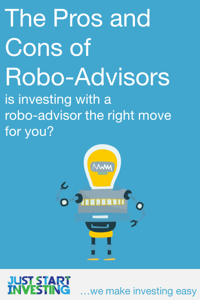 Robo-Advisors Pros and Cons - Pinterest