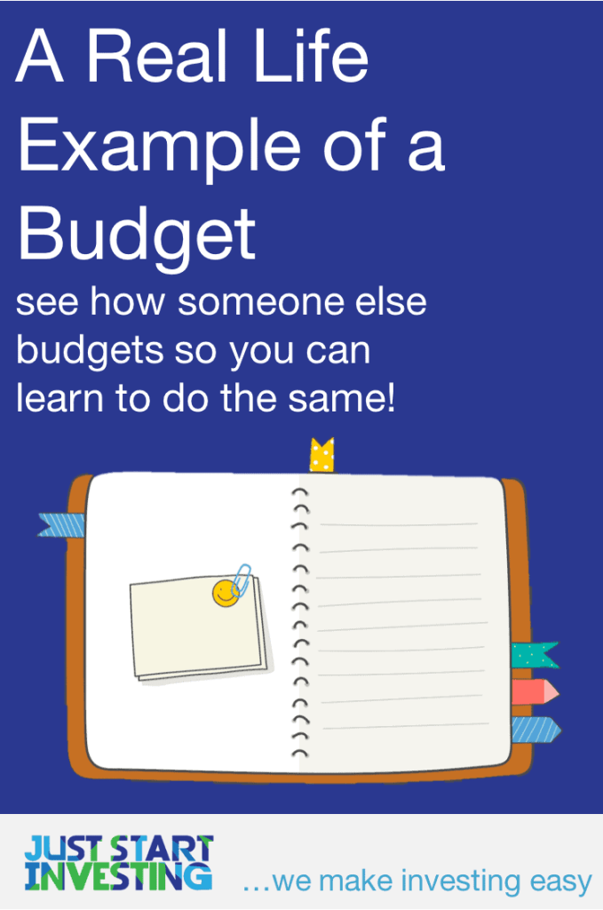 Example of a Budget - Pinterest
