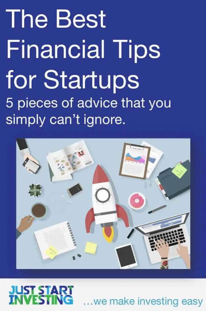 Financial Tips for Startups - Pinterest