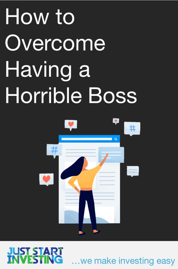 Overcome a Horrible Boss - Pinterest