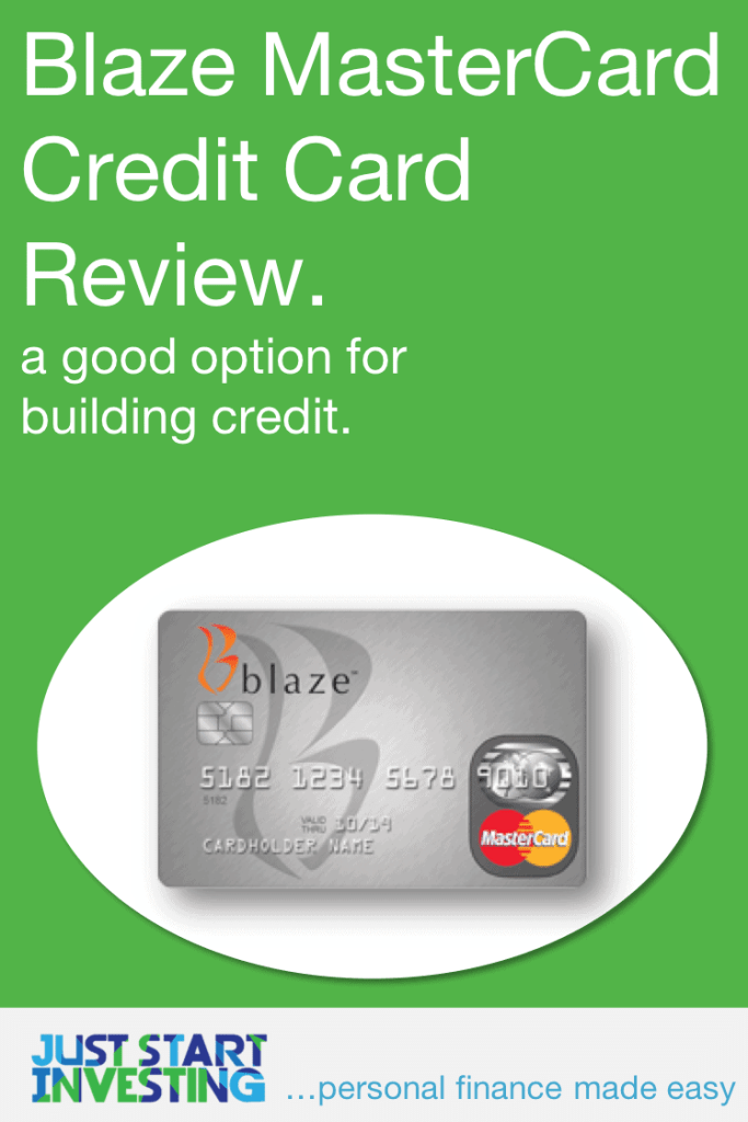 Blaze MasterCard Credit Card Review - Pinterest