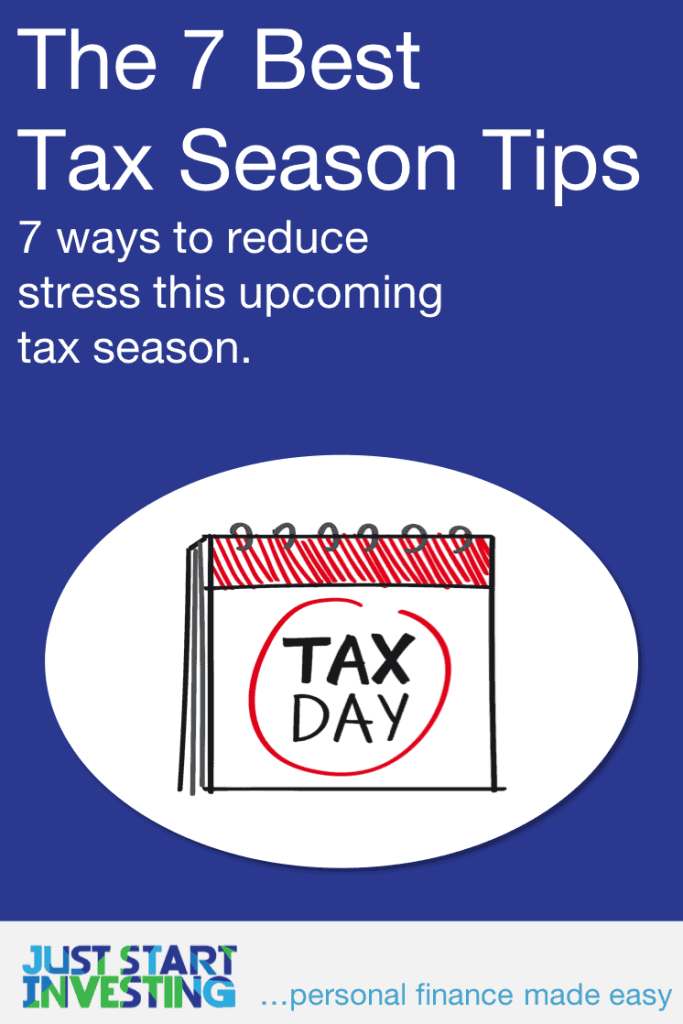 Tax Season Tips - Pinterest