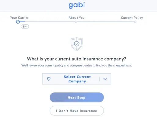 Gabi Insurance Review Questions