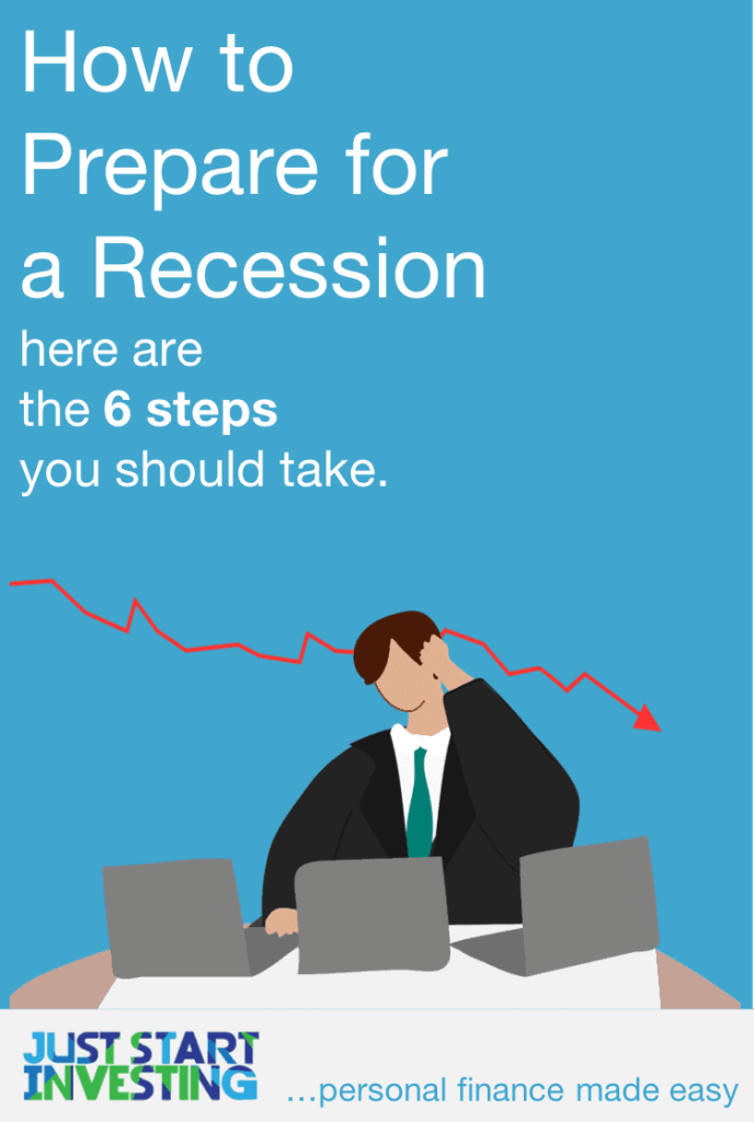 How to Prepare for a Recession - Pinterest