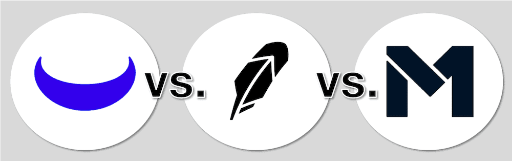 Webull vs Robinhood vs M1 Finance