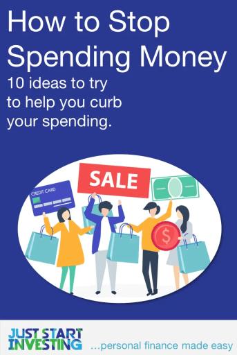 How to Stop Spending Money - Pinterest