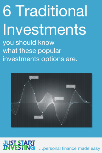 Traditional Investments - Pinterest