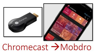 how to cast mobdro to chromecast