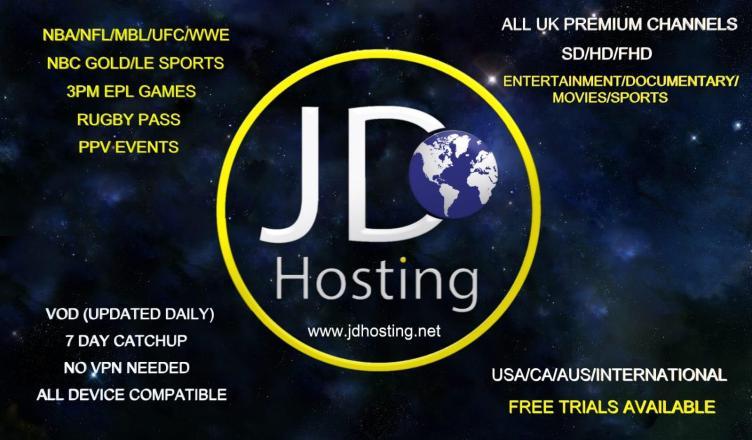 JDHosting IPTV Review - Set up JDHosting IPTV on Kodi - Just