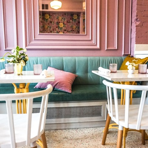 A SLICE OF PASTEL HEAVEN IN TORONTO: CAFÉ CANCAN