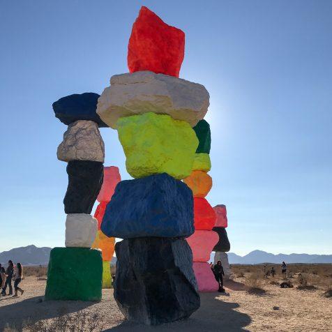 Seven Magic Mountains: Art in the Desert