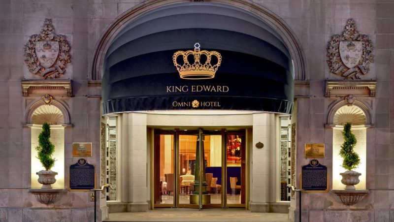 Staycation: OMNI King Edward Hotel Toronto