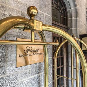 Fairmont Le Chateau Frontenac - Quebec City - Luggage Cart