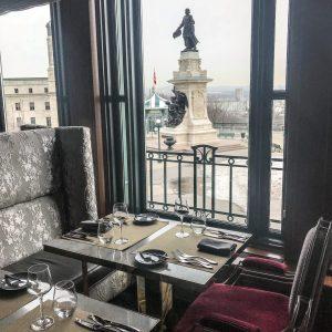 Fairmont Le Chateau Frontenac - Quebec City - Restaurant View
