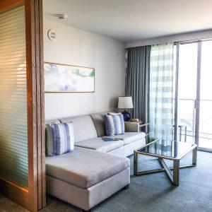 Ritz Carlton Residences Waikiki - Suite Sitting Area
